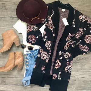 A New Day Long floral cardigan | NWT